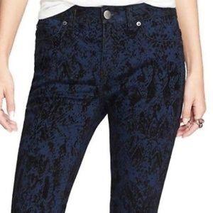 Free People Pants - NWT free people indigo textured pant