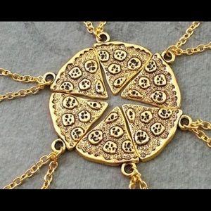 Gold Pizza Slice Necklace ❤️