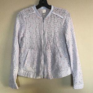 LC Lauren Conrad Lace Jacket Size 4