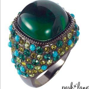 "Park Lane Jewelry - Park Lane ""Emerald City"" Ring NWT"