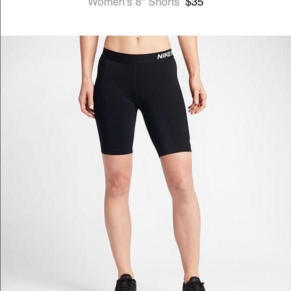 nike 8 inch shorts womens