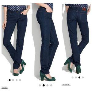 Madewell Denim - Madewell rail straight jeans dark denim