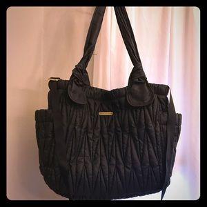 Timi & Leslie Handbags - Timi & Leslie black Marie Antionette diaper bag