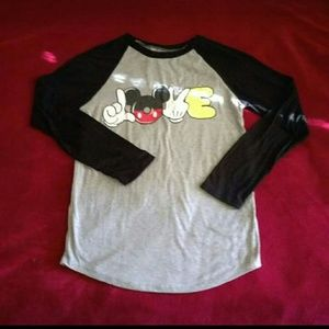 Tops - MICKEY MOUSE LONG SLEEVE SHIRT
