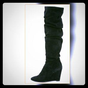 Rebecca Minkoff Shoes - NWT Rebecca Minkoff WedgeBoots in Black.Size7.5