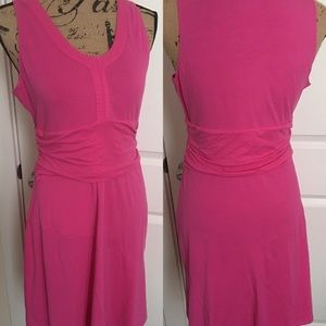 Hot Pink Athleta Dress with Zip Pocket