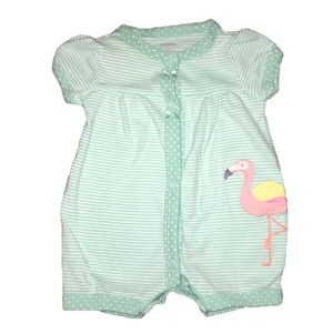 Carter's Other - Carter's flamingo Romper