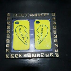 Rebecca Minkoff Accessories - NWT Rebecca Minkoff iPhone 4 Best Friend Cases