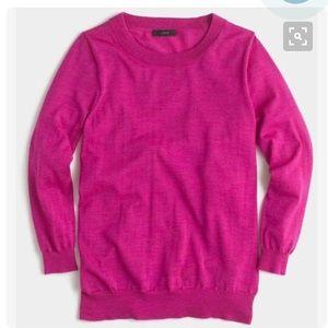 J. Crew Sweaters - JCrew 100% Merino Wool Pink Tippi Sweater. Size M.