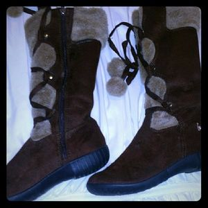 US Polo Association Brown Boots