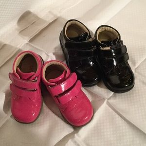Umi Other - Baby girl patent leather high top shoe bundle