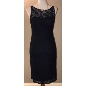 Aidan Mattox $90 NWT Size 6 Sleeveless Lace Dress
