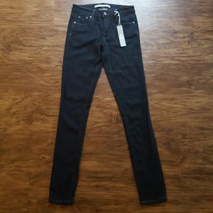 Tractr Denim - Tractr Dark Wash Skinny Jegging