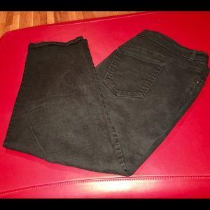 Gloria Vanderbilt 20W Short black Amanda jeans