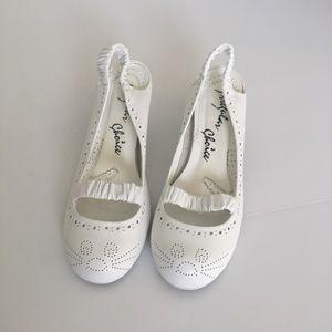 irregular choice  Shoes - Irregular choice Mouse toes White kitten heels