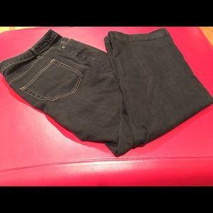 Coldwater Creek black jeans- size 20- EUC