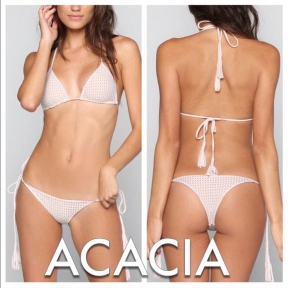 e5983c25ec7 acacia swimwear Swim   Acacia Humuhumu Mesh Strappy Cheeky Bikini In ...