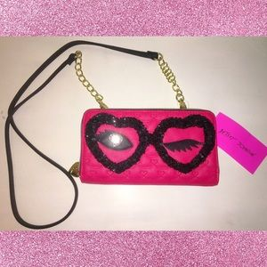 NWT Betsey Johnson Wink Wallet