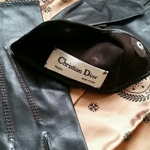Christian Dior Other - Christian Dior Men's Brown Leather Gloves L