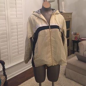 Afi  jersey lined windbreaker hoodie jacket PL