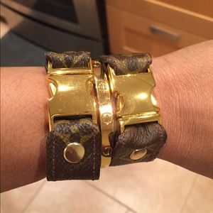 Jewelry - Louis Vuitton Canvas Repurposed Bracelet