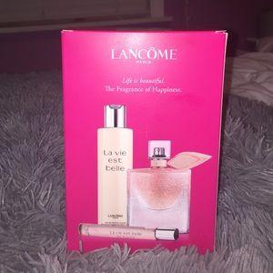 Lancome Other - Lancome La vie est belle perfume set