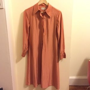 VINTAGE Copper Secretary dress