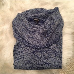 Cute and Cozy Express Cowl Neck Sweater