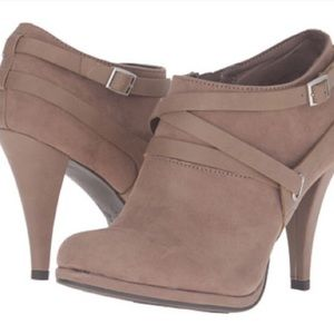 Fergalicious Shoes - NEW in box Suede Ankle Booties
