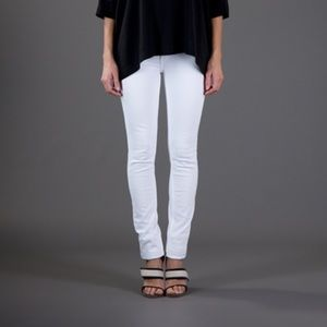 Acne Denim - Acne Kex White Skinny Jeans