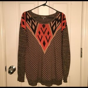 Urban Outfitters Funky Aztec Print Sweater