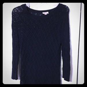 Loft navy sweater size XL