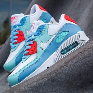 Nike Shoes - NWOB ✨ NIKE AIR MAX 90 PASTEL LEATHER W/ SILVER