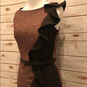 Eva Franco Dresses & Skirts - Eva Franco Ruffel Pencil Dress