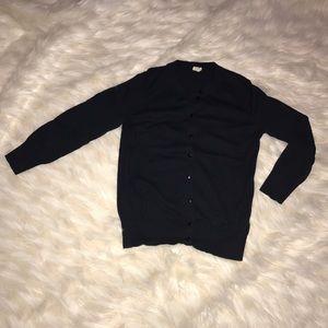 J. Crew Factory Sweaters - J. Crew Claire cardigan - navy