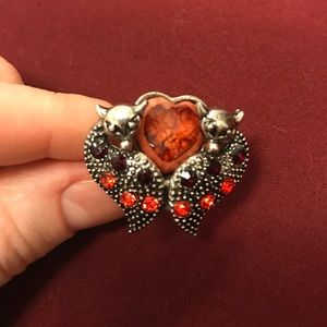 Jewelry - Adjustable fox and heart ring ❤