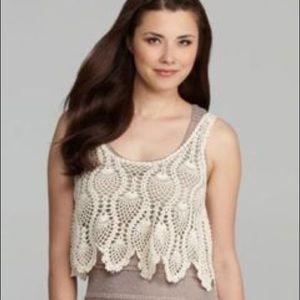 Chelsea & Violet crochet tank