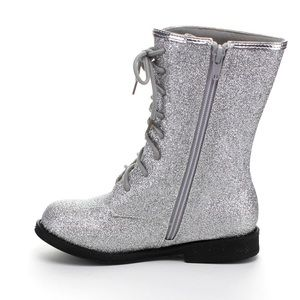 Jelly Beans Other - Super Shiny Girl's Combat Boots