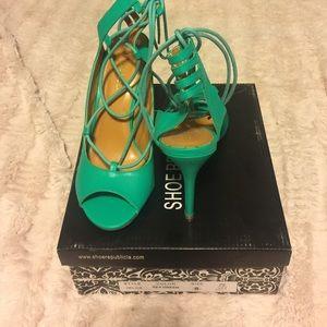 Show Republic LA lace up heels