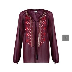 Altuzarra for Target Tops - Altuzarra for Target maroon top Small