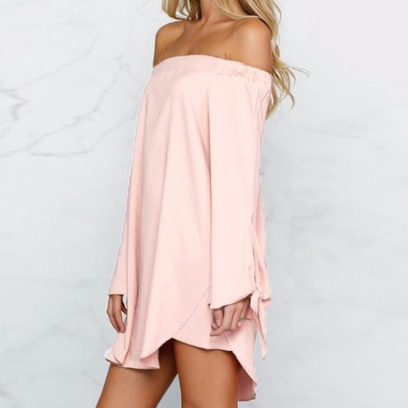Dresses - Sexy Strapless Off Shoulder Dress