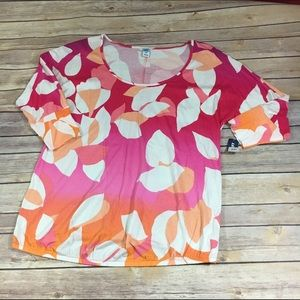 Old Navy Pink Ombre Maternity Top NEW NWT S