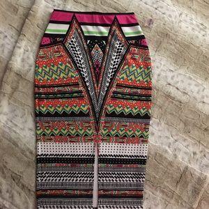 Skirt ! Funky print !