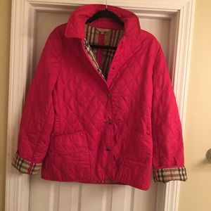 Awesome Burberry Brit Quilted Barn Jacket