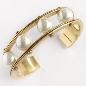 Jenny Bird Jewelry - Jenny Bird Gold Lyons Cuff. Free Shipping