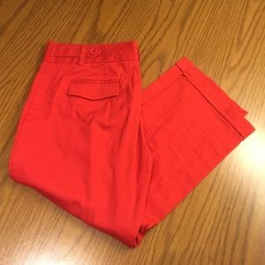 Soho Apparel Pants - SOHO Apparel Ltd. red dress pant capris size 4