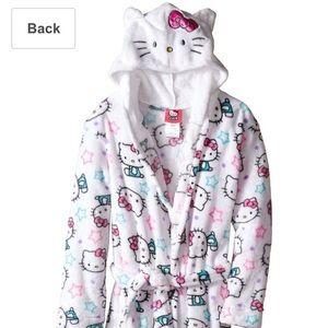 Komar Kids   Other - Komar 2T Girls' Hello Kitty Hooded Fleece Robe