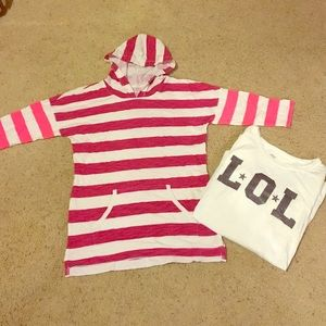 Old Navy Other - Old Navy Juniors long sleeve tops. Size XL. Cute!!