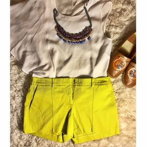 Marciano Pants - ⭐️Marciano SALE⭐️ chatreuse shorts