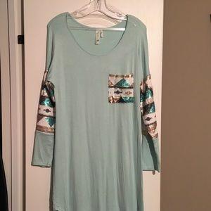 Dresses & Skirts - Super soft dress with embellishments